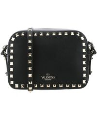 Valentino Garavani Rockstud Crossbody Bag - Black