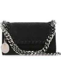 Stella McCartney Falabella Micro Shoulder Bag - Black