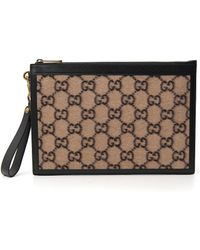 Gucci GG Zipped Clutch Bag - Multicolor