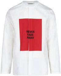Jil Sander Never Fade Away Print Long-sleeve T-shirt - White