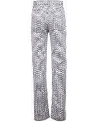 Givenchy 4g Jacquard Jeans - Multicolour