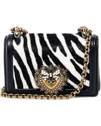 Dolce & Gabbana Micro Devotion Shoulder Bag - Black