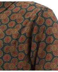 """Stussy """"circle Paisley"""" Shirt - Brown"""