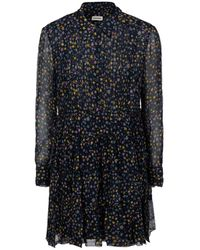 Zadig & Voltaire Rapidy Crinkle Star Dress - Multicolor