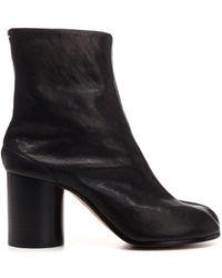 Maison Margiela Tabi 80 Ankle Boots - Black