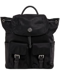 Tory Burch Multi-pocket Backpack - Black
