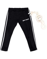 Palm Angels Mini Track Trousers Keychain - Black