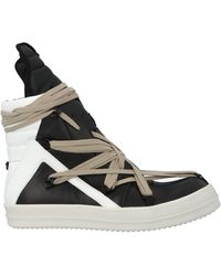 Rick Owens High Top Trainers - Multicolour