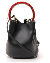 Marni Pannier Small Top Handle Bucket Bag - Black