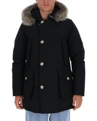 Woolrich Arctic Hooded Parka - Black