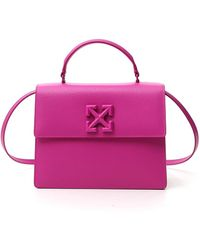 Off-White c/o Virgil Abloh Jitney 2.8 Tote Bag - Pink