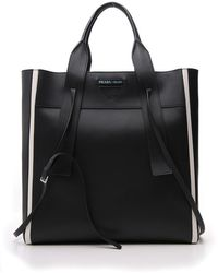 Prada Ouverture Medium Tote Bag - Black