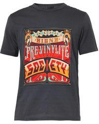 Juun.j Gray Societyprint Tshirt - Lyst