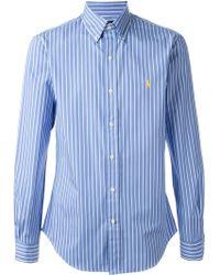 Polo Ralph Lauren Striped Shirt - Lyst