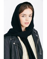 Coal - The Woods Hooded Scarf - Lyst