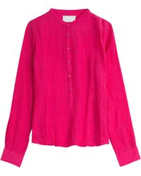 Zadig & Voltaire Crepe Blouse - Lyst