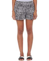 Proenza Schouler Bouclé Tweed Pleated Shorts - Lyst