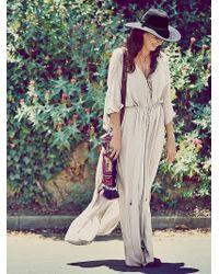 Free People White Bombora Dress - Lyst