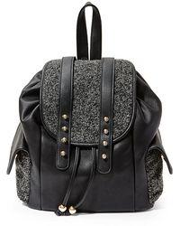 Steven by Steve Madden - Doris Faux Leather Backpack - Lyst