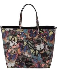Valentino Camubutterfly Tote - Lyst