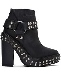 Nasty Gal Jeffrey Campbell Lilyn Stud Boot - Lyst