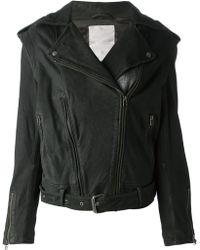 Adidas Slvr Biker Jacket - Lyst