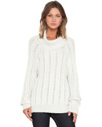 For Love & Lemons Solstice Backless Sweater - Lyst
