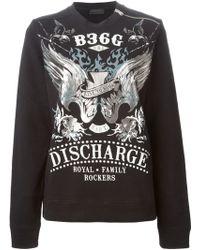 Diesel Black Gold Florem Sweatshirt - Lyst
