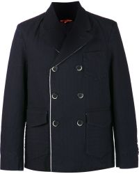 Barena Double Breasted Jacket - Lyst