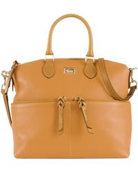 Dooney & Bourke Dillen Ii Double Pocket Satchel - Lyst