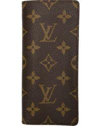 Louis Vuitton | Logo Print Glasses Case | Lyst