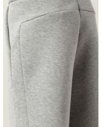 T By Alexander Wang - Straight Leg Track Shorts - Lyst