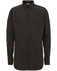 Saint Laurent Mini Polka Dot Shirt - Black