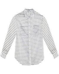 Elizabeth And James Emmanuelle Striped Shirt - Lyst
