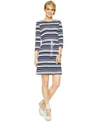 C. Wonder Cotton Slub Boatneck Drawstring Dress - Lyst