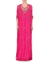 Diane von Furstenberg New Clare Chiffon Kaftan Dress - For Women - Lyst