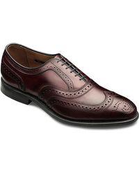 Allen Edmonds Mcallister Leather Wingtip Brogue Oxfords - Lyst