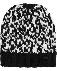HUGO - Hat With Wool: 'women-x 495' - Lyst