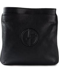 1fabed6a09 Giorgio Armani - Logo Messenger Bag - Lyst