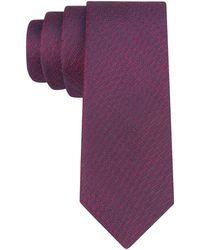 John Varvatos Silk Textured Tie - Lyst