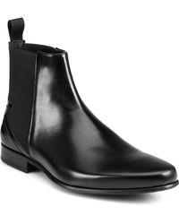 Kenzo Tremayne Leather Chelsea Boots - Lyst