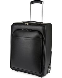 Montblanc - Sartorial Two-wheel Leather Cabin Suitcase 55cm - Lyst