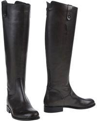 Lemarè Boots gray - Lyst