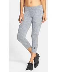 Hurley Dri-fit Crop Leggings - Grey