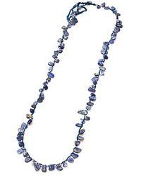 Nakamol Stone Shards Necklace-Lapis - Lyst
