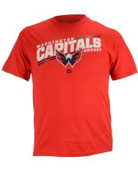 Majestic Men'S Short-Sleeve Washington Capitals Home Advantage T-Shirt - Lyst