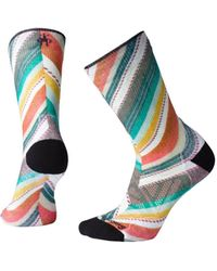 Chaco Smartwool Smartwool Phd® Outdoor Light Print Crew Socks - Multicolor