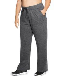 Champion - Plus Powerblend® Fleece Open Bottom Pants - Lyst