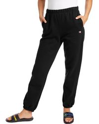 Champion Life Reverse Weave Boyfriend Sweatpants - Black