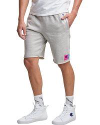 Champion Life Reverse Weave Cut-off Shorts - Gray